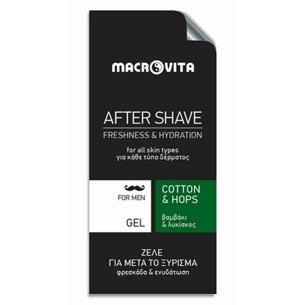 MACROVITA AFTER SHAVE GEL cotton & hop 3ml (sample)