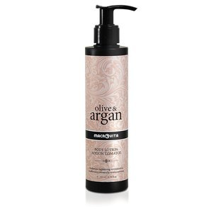 MACROVITA OLIVE & ARGAN BODY LOTION with Hyaluronic Acid for all skin types 200ml