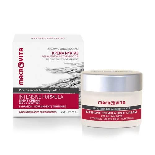 MACROVITA INTENSIVE FORMULA natural night cream for all skin types 40ml