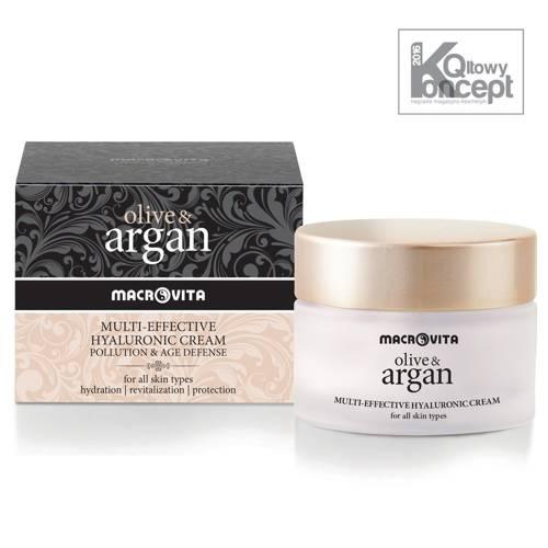MACROVITA OLIVE & ARGAN HYALURONIC CREAM POLLUTION & AGE DEFENSE all skin types 50ml