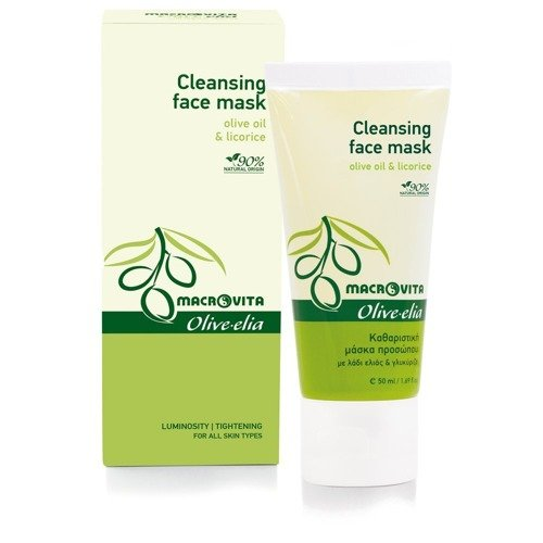 MACROVITA OLIVE-ELIA CLEANSING & SOOTHING FACE MASK olive oil & licorice 50ml