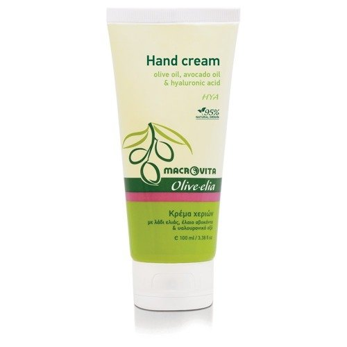 MACROVITA OLIVE-ELIA HYA Hyaluronic Hand Cream olive oil, avocado oil & hyaluronic acid 100ml