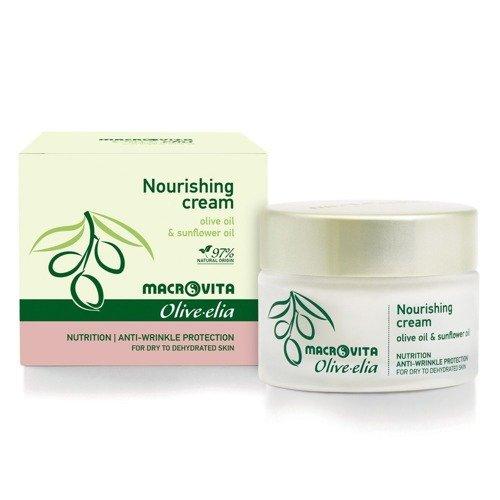 MACROVITA OLIVE-ELIA NOURISHING CREAM olive oil & sunflower for dry and dehydrated skin 50ml