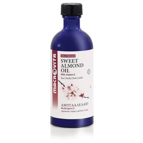 MACROVITA SWEET ALMOND OIL in natural oils with vitamin E 100ml