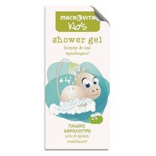 MACROVITA KIDS shower gel for kids honey & oat 5ml (Probe)