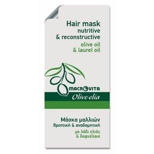 MACROVITA OLIVE-ELIA Ernährung Intensive Repair Mask für die Haare mit Bio-Komponenten 5ml (Probe)