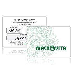 Kupon Podarunkowy MACROVITA o wartości 150 złotych