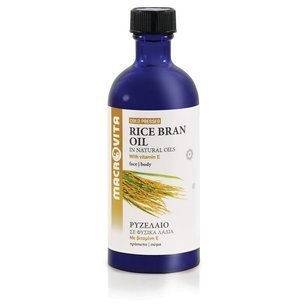 MACROVITA OLEJ Z OTRĘBÓW RYŻOWYCH w naturalnych olejach tłoczony na zimno z witaminą E 100ml
