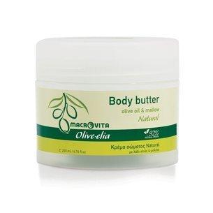 MACROVITA OLIVE-ELIA NATURAL masło do ciała z bio-składnikami 200ml