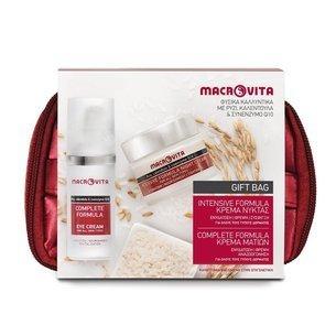 ZESTAW MACROVITA INTENSIVE+COMPLETE: krem na noc 40ml + krem pod oczy 30ml + kosmetyczka