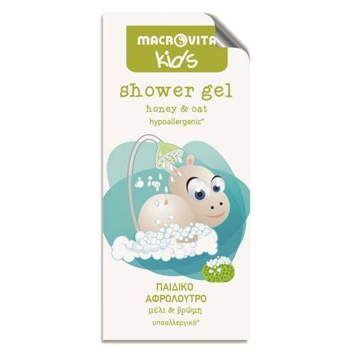 MACROVITA KIDS żel pod prysznic dla dzieci miód & owies 5ml (próbka)