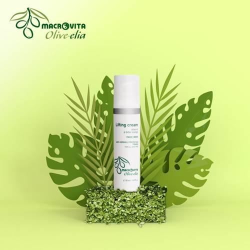 MACROVITA OLIVE-ELIA liftingujący krem na twarz i szyję z bio-składnikami 50ml