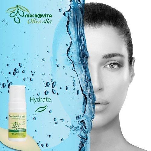 MACROVITA OLIVE-ELIA pianka do mycia twarzy 3w1 z bio-składnikami 100ml
